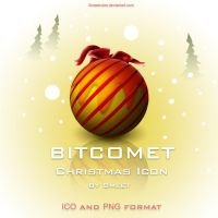 Bitcomet Christmassy Icon by smeetrules
