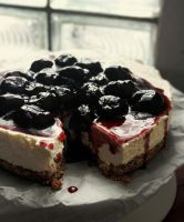 No Bake Cherry Cheesecake by sasQuat-ch