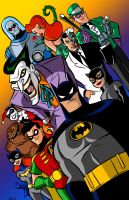 Batman The Animated Series Poster By Scoot By Scoo by Balsavor
