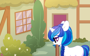 Filly Vinyl Story Panel One by MonstreNoir