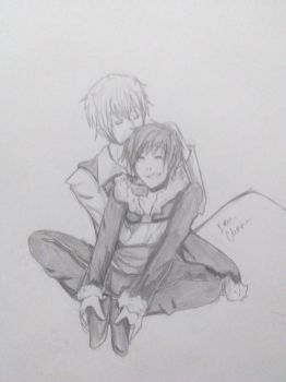 Unfinished Shizaya doodle idk by Ask-the-2P-Sebby
