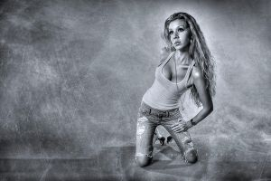 Kayla_IMG_1521ps_BW_TM_x900_W by Wizardinc