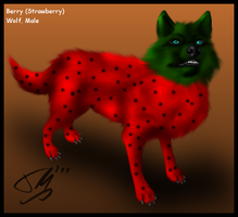 Breedable Berry the Wolf by Fenere