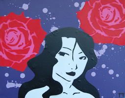 Lust With Roses by GateGraffiti