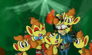 You Guys Shouldn't be Monkeying Around! by poketrio