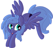 Fluffy Luna by lulubellct