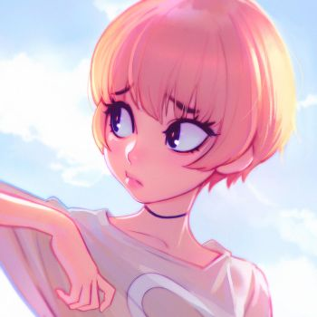 Clouds by Kuvshinov-Ilya