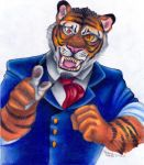 Dr. Cyborg the tiger by polar27