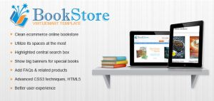 Virtuemart Book Store Template | Book stores theme by CmsChanel