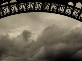 The Eiffel Tower by AntiMilo