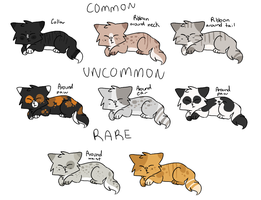 Sugar Cat Kitten Adoptables - OPEN by catpaths