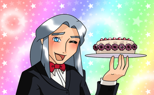 Raphael - Sparkly Cake by sonicgirl11
