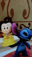 Belle And Stitch by Mileymouse101