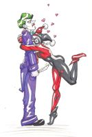 Harley and Joker--Dangerous Love by Kittykawaiix3