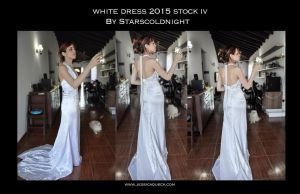 White Dress 2015 Stock 4 By Starscoldnight by StarsColdNight