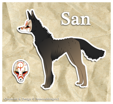 San by seasonaldragon1