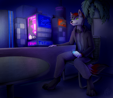 Night at the City by Neotheta