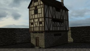 Medieval house 2 by Thosar