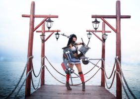 Nagato KANCOLLE prop, costume and cosplay  by me by dovananh27031993
