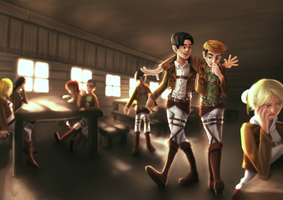 Attack on Titan by miesmud