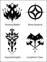 Guild Emblems Part 2 by fishytasty