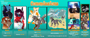 Money Commission Sheet 2014 by SnowyCakes