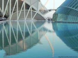 City of Arts and Sciences Reflection by Lynx-Pardina