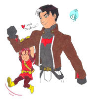 Young Justice!! Uncle JayBird by BobsCookie