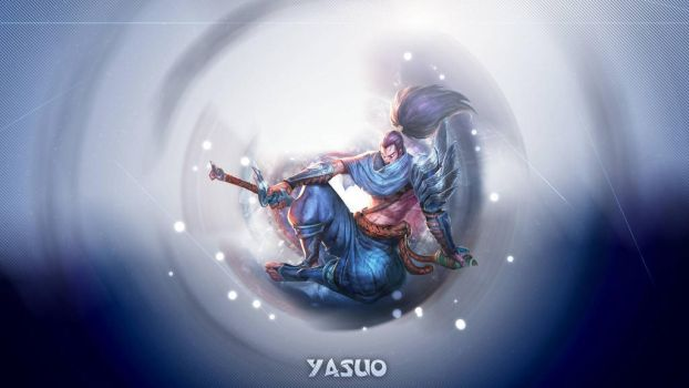League of Legende Yasuo by IKageI