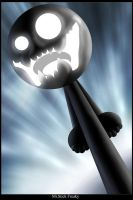 Mr Stick Freaky by vissroid