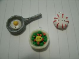 New Kawaii Food Charms by Chubbli