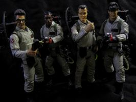 Mattels Classic Ghostbusters by Police-Box-Traveler
