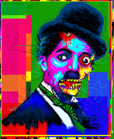 The Zombie of Charlie Chaplin by TOMMYtheSQUID