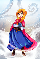 Princess Anna by WuggyPants