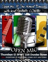 Open Mic Poster by live09