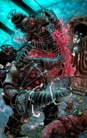 fanart bioshock 2 by crispawn