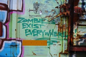 ZOMBIES EXIST EVERYWHERE! by DelaneyKH