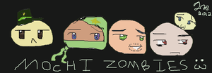 Mochi Zombies. by TheFantasticJess