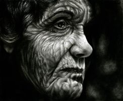 old woman by emanuelmrs