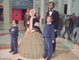 The Lincoln Family by unseeliefaery