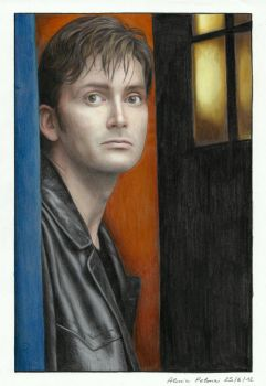 The Tenth Doctor by AlessiaPelonzi