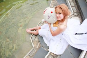Sakura and Mokona, Tsubasa: Reservoir Chronicle by firecloak