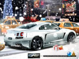 Skyline R35 GT-R CHRISTMAS by CapiDesign