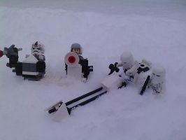 Lego Star Wars imperial army of winter by sidious66