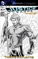 Justice League Sketch Cover by 93Cobra