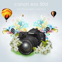 Canon EOS 50d Ad by Brukhar