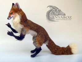 Red Fox Room Guardian by AnyaBoz
