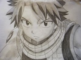 Fairy Tail Natsu Dragoneel by Lemon-Yelloww