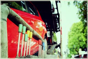 Cars and Levers by Eroha