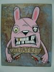 THE MEANEST PINK BUNNY by BiLBetsOviC